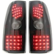 Pair Tail Lights Lamps Set Of 2 Left-and-right For Chevy Performance Lh And Rh Gmc