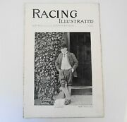 Horse Racing Illustrated 1896 Antique Magazine Lordship Farm Stables