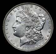 1892-p Morgan Dollar 1much Better Date-gem Strong Strikegreat Breast Feathers