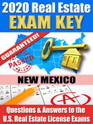 2020 New Mexico Psi Real Estate Exam Prep Study Guide Questions And Ans. [cd-rom]
