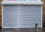 Industrial Galvanised Electric Roller Shutter Doors - All Sizes.