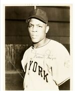 1950and039s Willie Mays Original Photograph Psa Dna Type 3 Image Used For 1952 Topps