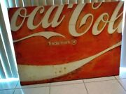 Coca-cola Painting Oil On Canvas 30 X 60in Commissioned By Coca Cola Executive