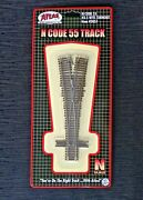 Atlas 1/160 N Scale Code 55 3.5 Manual Wye Turnout Switch Item 2057 F/s