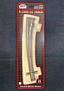 Atlas 1/160 N Scale Code 55 21.25r / 15r Right Curved Turnout Switch 2059 F/s