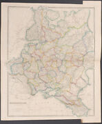 Arrowsmith - Map Of Russia. 2-14 - 1842 Folio Hand-colored Engraving