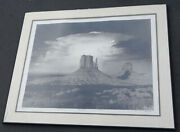 Anthony J Beckish Mittens And Thunder Clouds Signed Art Photograph Print Litho