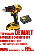Top Quality Dewalt Brushless Cordless Hammer Drill Battery Fast Charger Power