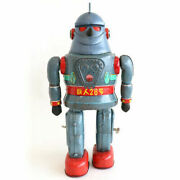 Nomura Toy Tetsujin No.28 Tinplate 1960and039s Rare Figure Height 330mm Made In Japan