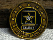 Us Army An Army Of One Staff Sergeant Challenge Coin
