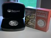 2013 Year Of The Snake High Relief 1oz Silver Proof Australian Coin