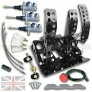 Fits Ford Fiesta Mk1-2-3 Floor Mounted Hydraulic Pedal Box Kit Andndash Sportline