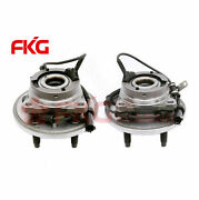 New Front Wheel Hub And Bearing Assembly For Ford Freestar W/ Abs 513232 513233
