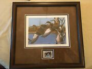 Ducks Unlimited New Hampshire Duck Print And Stamp Limited Edition Thompson Crow