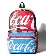 Lesportsac Coca-cola Carson Backpack Coke Collage New From Japan