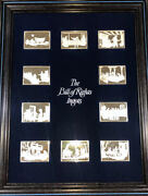 The Bill Of Rights Silver 10 1 Ozt Ingots Proof In Framed Display Scarce Set.