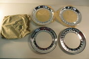 1955 1956 Vintage 15 Beauty Rings Wheel Cover Hubcap Aluminum Plymouth Chrysler