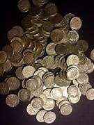 The Dimes Deal All 90 Us Silver Coins 1 Pound Lb 16 Oz. Pre-1965 One
