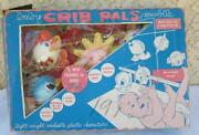 Vintage 1960s Baby Crib Pals Mobile Celluloid Plastic Marlin Toy
