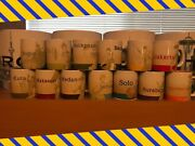 13x Starbucks Indonesia Dancer Collector Series Cups With Jarkarta Solo Mugs