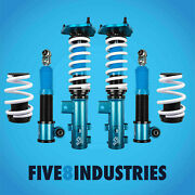 For 11-15 Elantra And 14-16 Kia Forte Five8 Industries Coilovers Height Adjustable