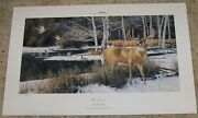 Ron Van Gilder The Haven Print Limited Signed Minnesota Ducks Unlimited Geese