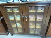 Antique Primitive Southern Style Pie Safe W/screened Sides And Doors