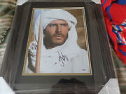 Harrison Ford Autographed Indiana Jones Photo In A 18x22 Frame Psa Certified