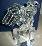 Iris Arc Crystal The Eagle Limited Edition Paperweight