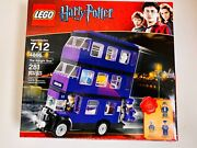 Lego Harry Potter The Knight Bus 4866 Mib 2011 W/ 3 Included Characters