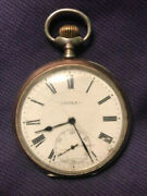 Antique Doxa Medaille D'or, Milan 1906 Pocket Watch Hors Concourse Liege-1905