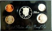 1995 Us Mint Premier Silver Proof Set Stunning Perfect Condition In Felt Box