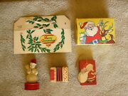 Early American Candy Containers C. 1915 - Super Rare For Serious Collectors