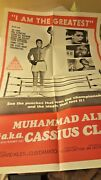 Vintage Movie Poster The Greatest Muhammad Ali - Cassius Clay