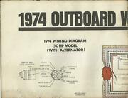Johnson Marine Boat 1974 Outboard Wiring Diagrams 50 70 85 115 135 Hp Models
