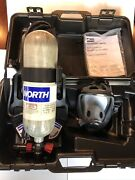North Frontier Series Scba W/4500 Psi Carbon Fiber Wrapped Air Tank 60 Min