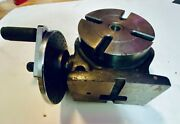 Vintage 4 Precision Tilting Rotary Table, Another 1970's Lathe Tool