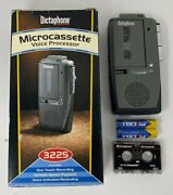 Dictaphone 3225 Portable Handheld Microcassette Voice Recorder +90 Days Warranty