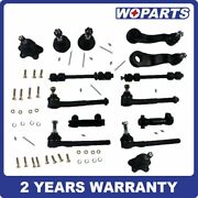 14x Complete Suspension Parts Fit For Chevrolet K1500 K2500 Tahoe Yukon 4wd 4x4