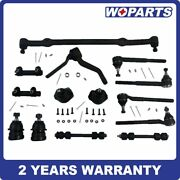 14x Ball Joint Tie Rod Sway Bar Kit Fit For Chevy Pontiac Oldsmobile Buick 78-87