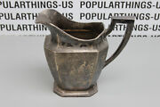 Wm B. Durgin Sterling Silver Engraved 4 Pint Pitcher