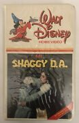 Walt Disney Home Video The Shaggy D.a. Vhs Clamshell-tested-rare Vintage-ship24h