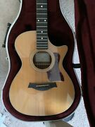 Taylor 312 Ce Acoustic Electric Guitar Great Conditions