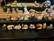Wade Red Rose Tea Complete Set 32 Canadian Animals Series Figurine Lot