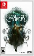 Nintendo Switch Video Game Call Of Cthulhu Brand New And Sealed