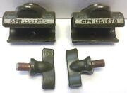 Wwii Ford Gpw ✅a2901 A2473 F Marked Top Bow Cast Pivot And Thumbscrew Set 4pcs