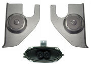 Dash Speakers And Kick Panels For Stereo Radio Custom Fit 67-72 Chevy Truck W/ A/c