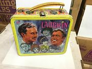 Laugh-in Tv Show Very Rare Metal Lunch Box 1960s