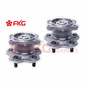 Pair Rear Wheel Hub And Bearing Assembly For Altima Maxima Quest 5lug W/abs 512292