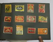 Indian Old Vintage Matchbox Mix Labels Sheet Indian Matches Box Collectible 04